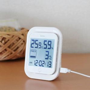 【新商品】PM2.5温湿度計「エルモニ」