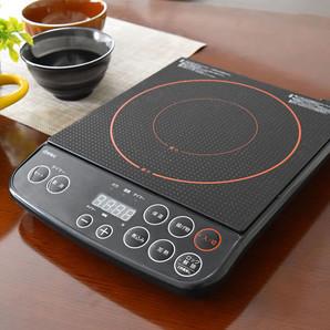 【新商品】デカボタンIH調理器