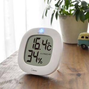 【新商品】デジタル温湿度計「ルミール」