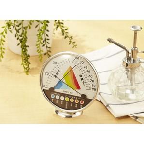 熱中症・インフルエンザ警告御湿度計